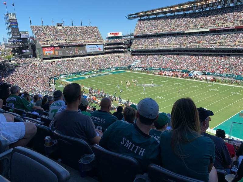 Seating view for Lincoln Financial Field Section C5 Row 15 Seat 2