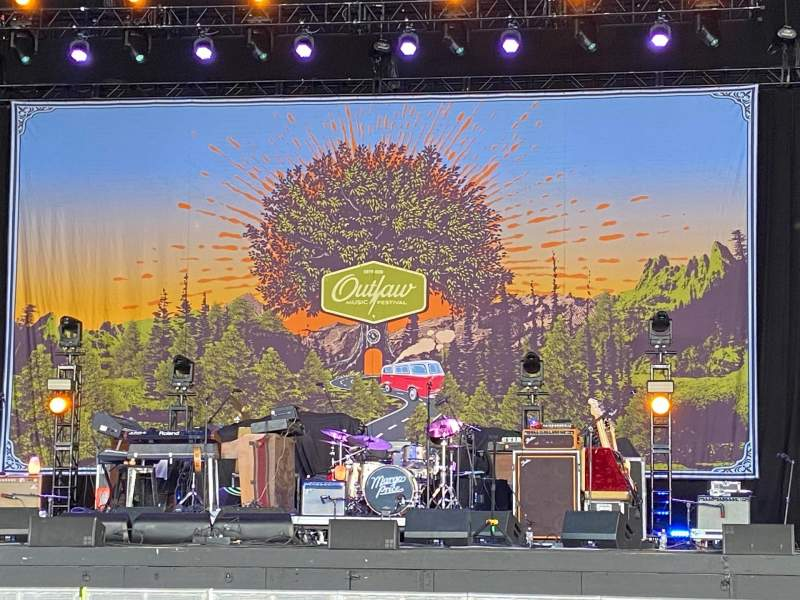 Seating view for PNC Music Pavilion Section 2 Row O Seat 8