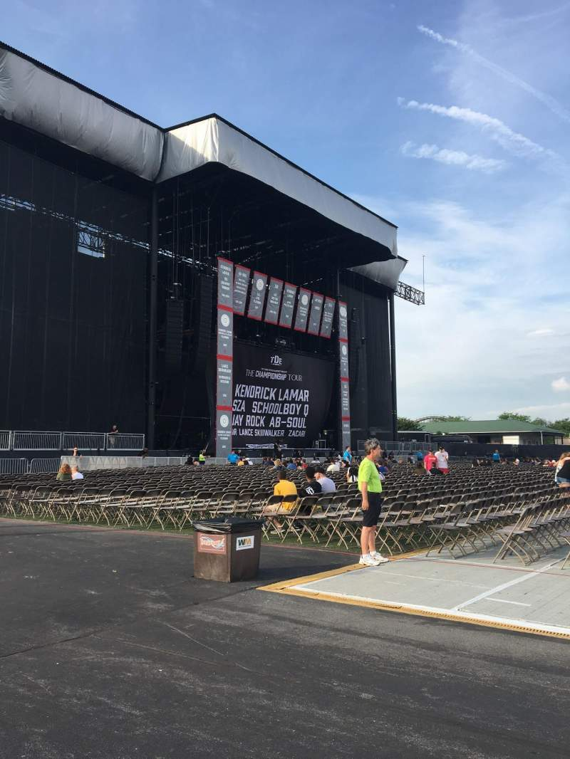 Seating view for Hershey Park Stadium Section ACCW Row GA0