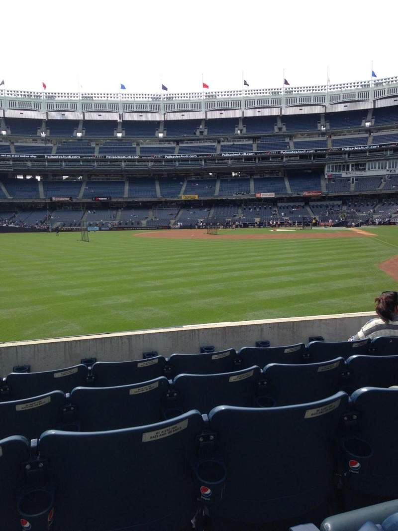 Seating view for Yankee Stadium Section 133 Row 15 Seat 11