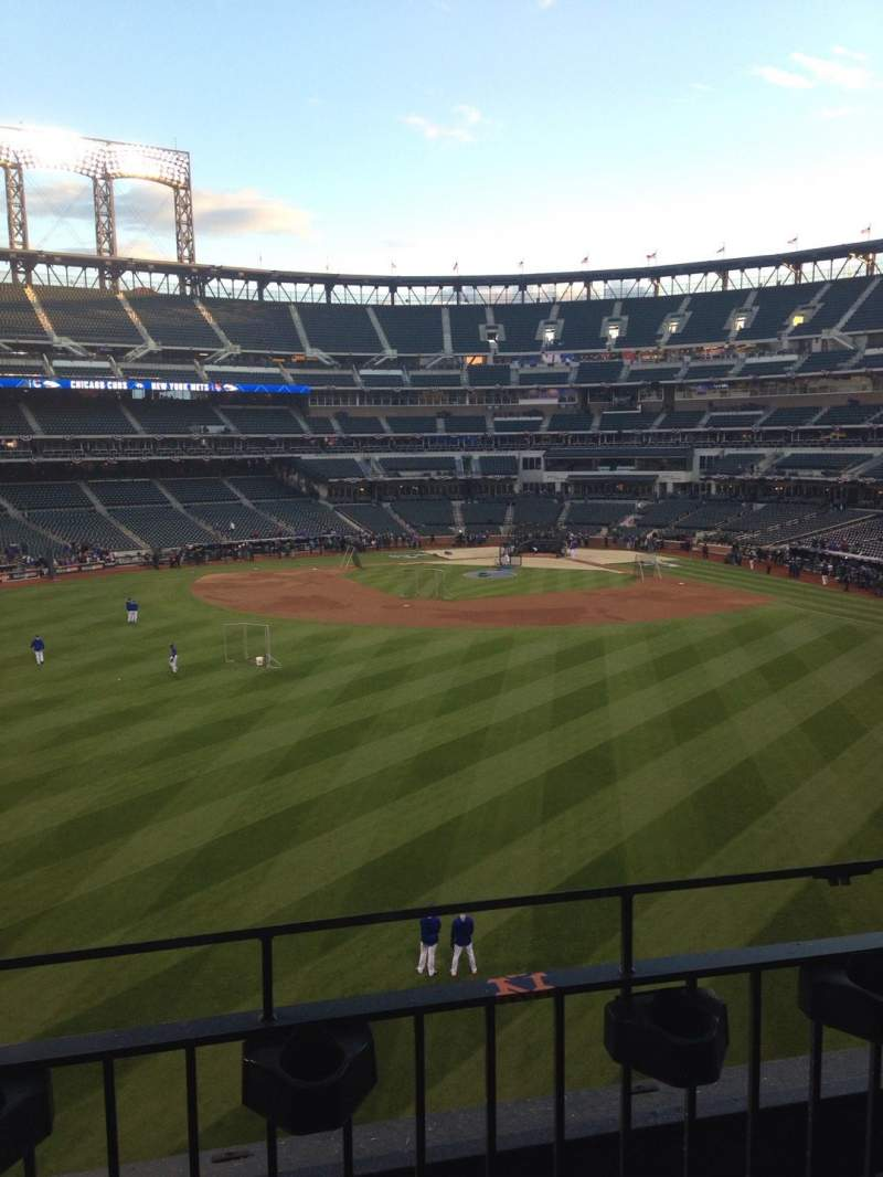 Seating view for Citi Field Section 337 Row 2 Seat 16