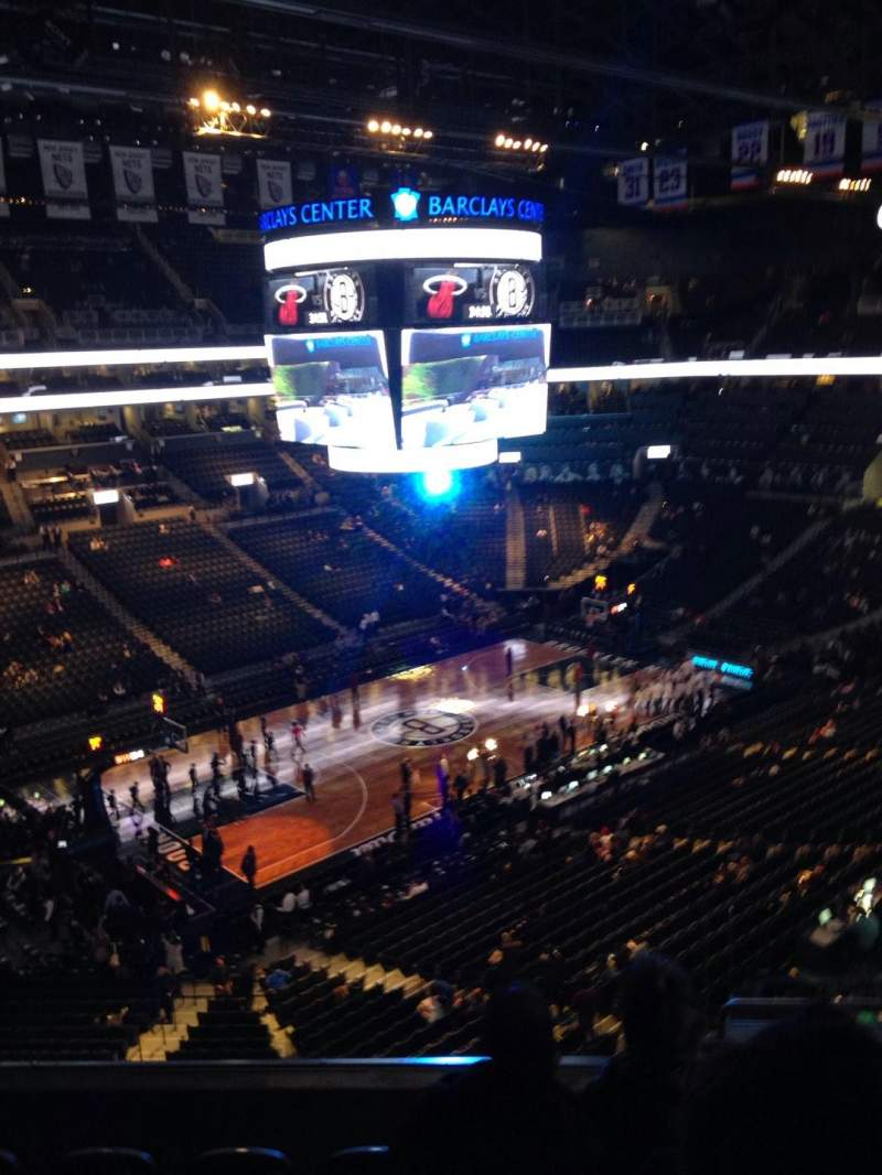 Seating view for Barclays Center Section 212 Row 5 Seat 3