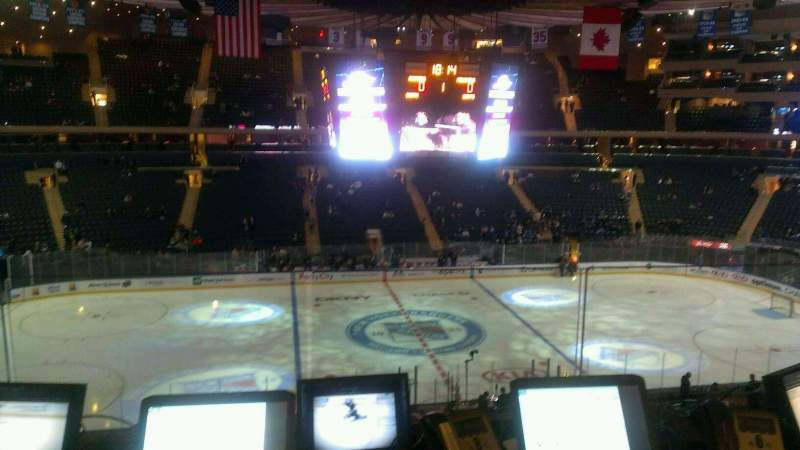 Seating view for Madison Square Garden Section 223 Row 3 Seat 20