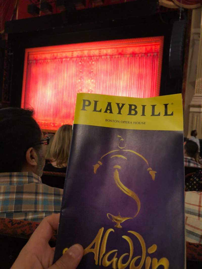 Seating view for Citizens Bank Opera House Section OrchRC Row K Seat 18