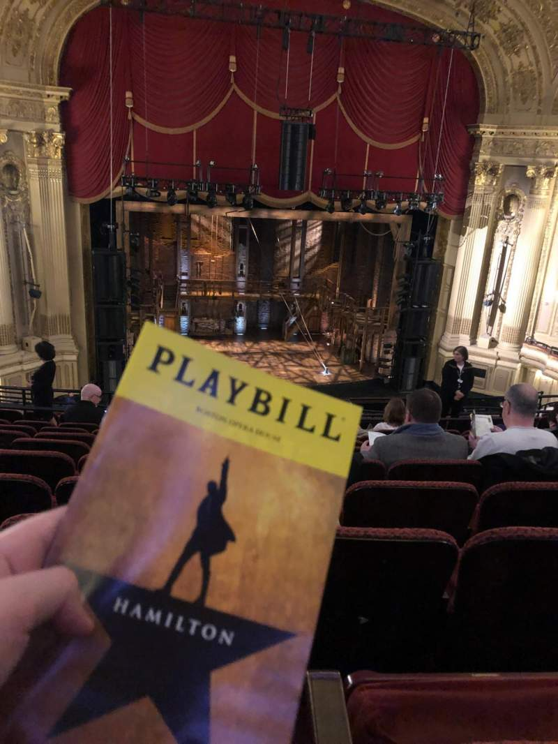 Seating view for Citizens Bank Opera House Section MEZZLC Row I Seat 117