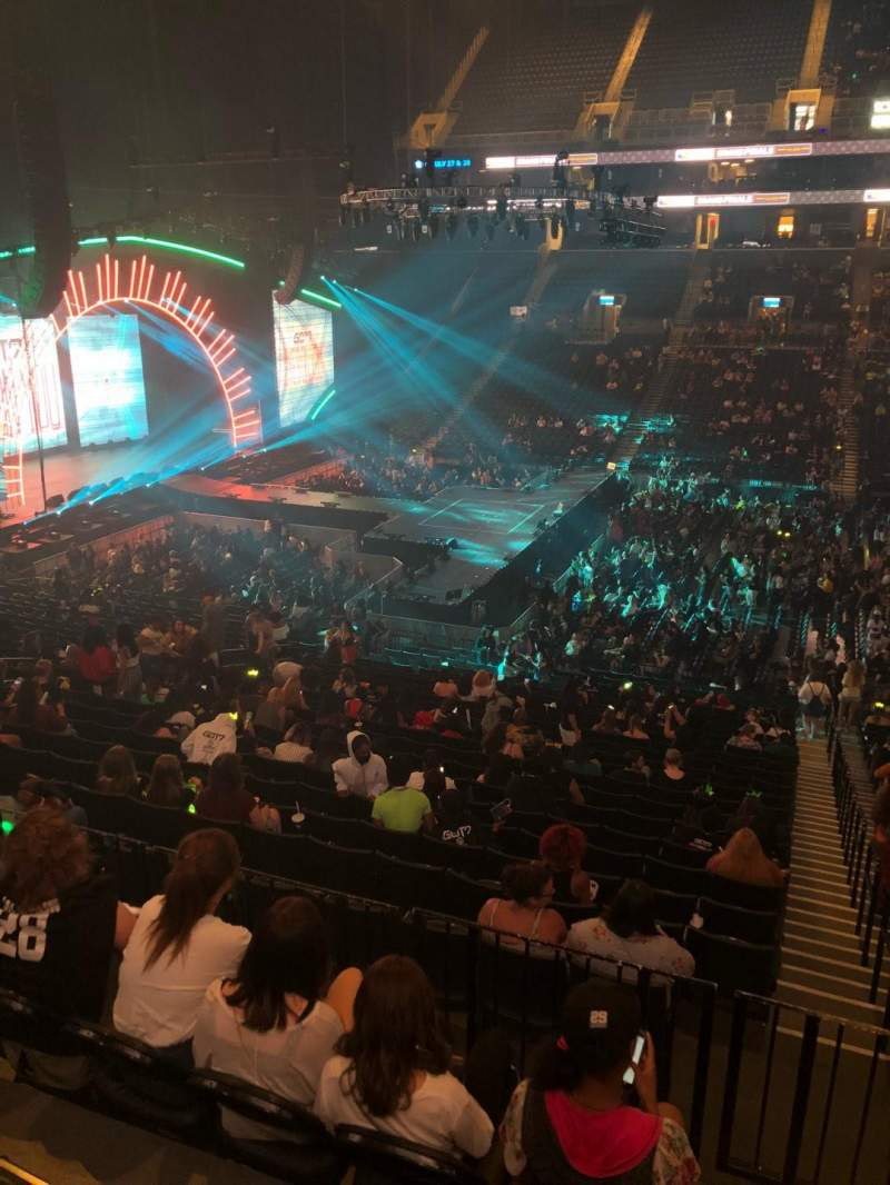 Barclays Center, section: 124, row: 7, seat: 1