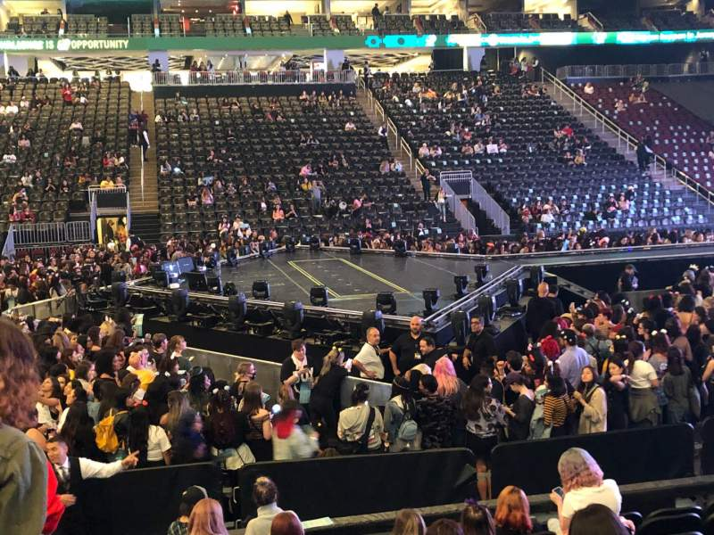 Seating view for Prudential Center Section 8 Row 9 Seat 20