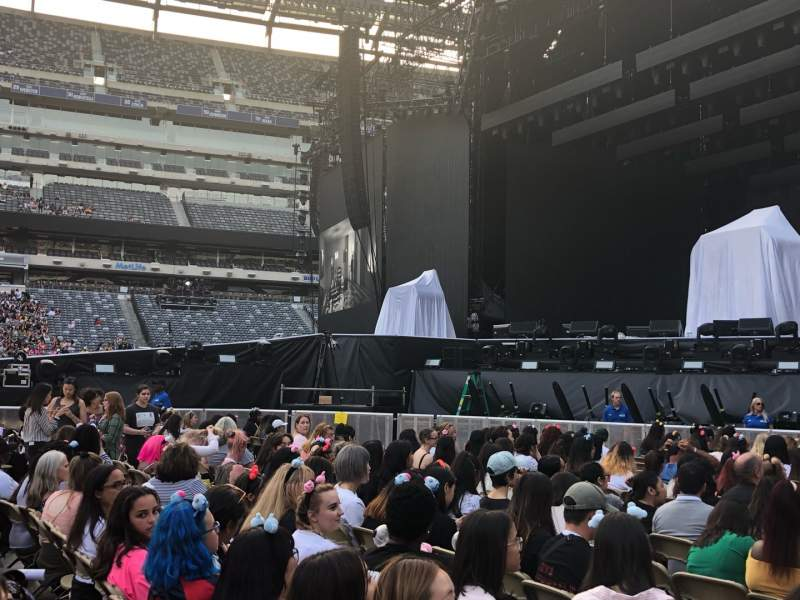 Seating view for MetLife Stadium Section Floor 2 Row 15 Seat 23