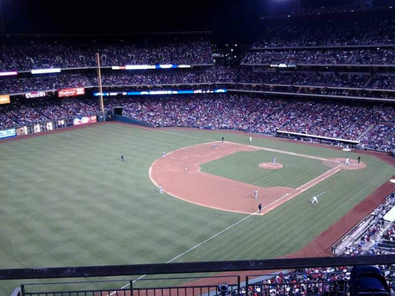 Seating view for Citizens Bank Park Section 432 Row 1 Seat 20