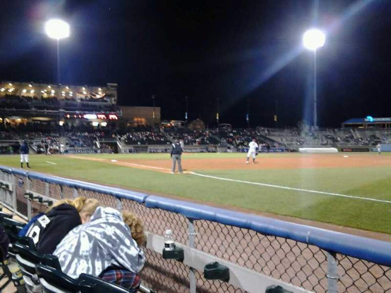 Seating view for Coca-Cola Park Section 104 Row B Seat 14