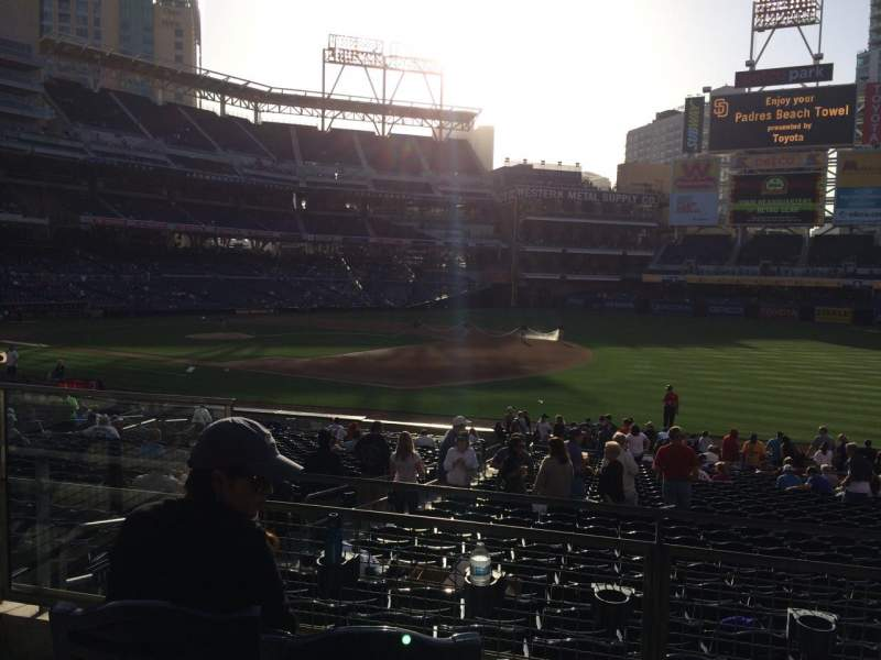 Seating view for Petco Park Section 115 Row 29 Seat 4