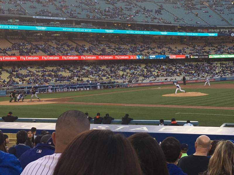 Dodger Stadium, section: 24FD, row: L, seat: 3
