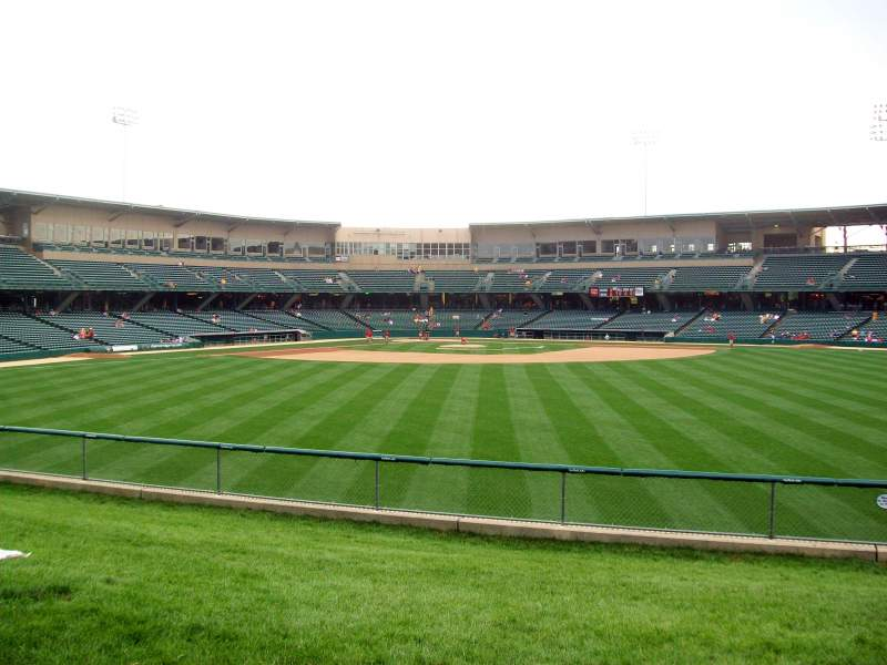Seating view for Victory Field Section Right Field Lawn