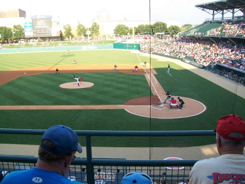 Seating view for Victory Field Section 207 Row C Seat 3