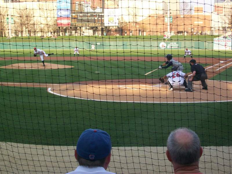 Victory Field, section: 111, row: F, seat: 11