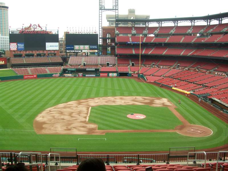 Seating view for Busch Stadium Section 257 Row 12 Seat 6