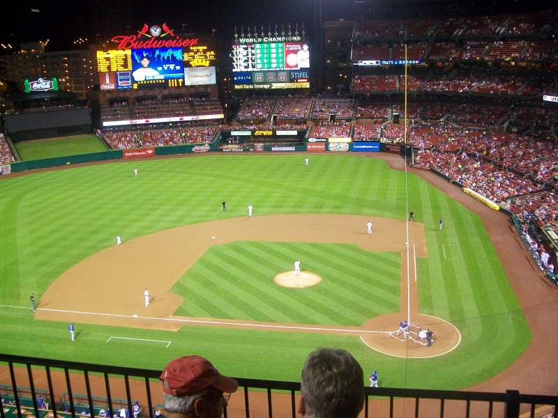 Seating view for Busch Stadium Section 354 Row 3 Seat 5