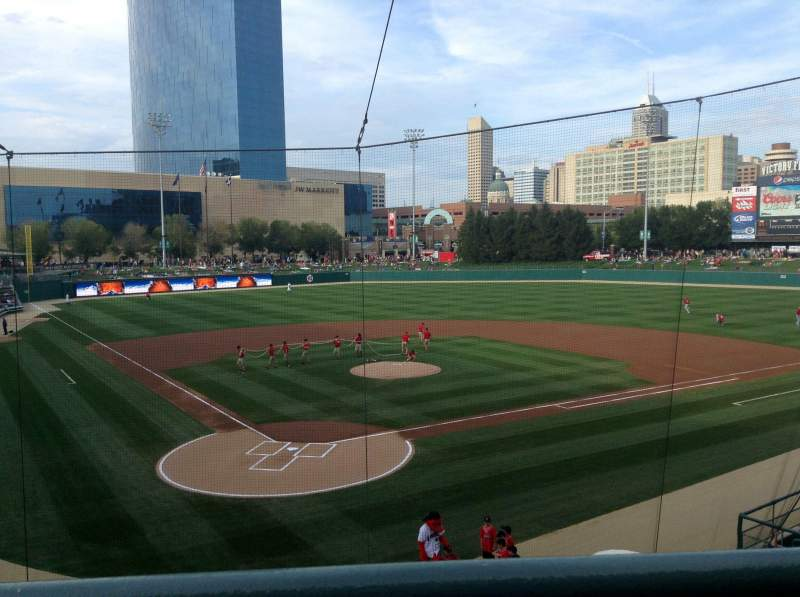 Seating view for Victory Field Section 211 Row A Seat 6