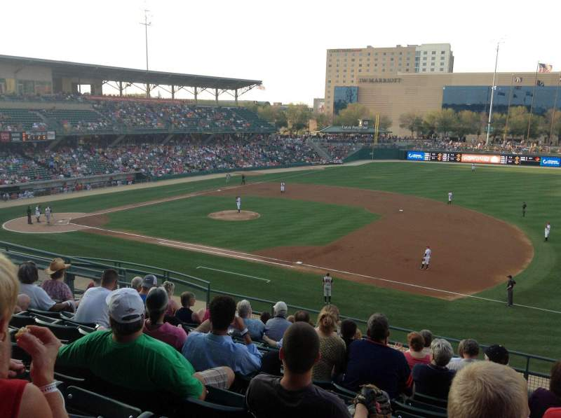 Seating view for Victory Field Section 216 Row J Seat 13