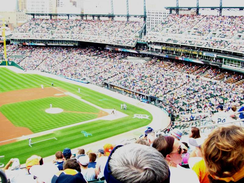 Seating view for Comerica Park Section 336 Row 8 Seat 20