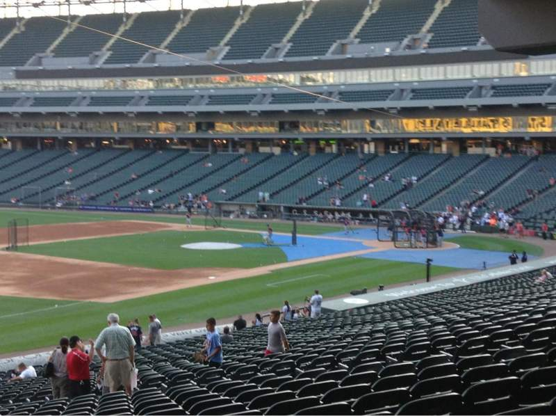Seating view for Guaranteed Rate Field Section 148