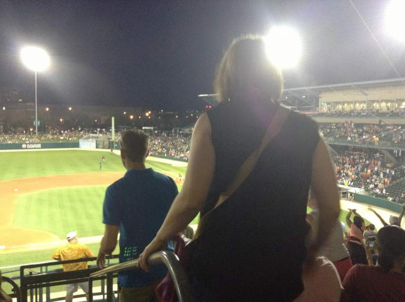 Seating view for Victory Field Section 205 Row K Seat 2
