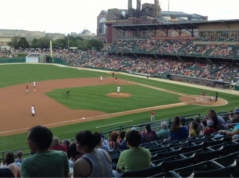 Seating view for Victory Field Section 204 Row N Seat 13