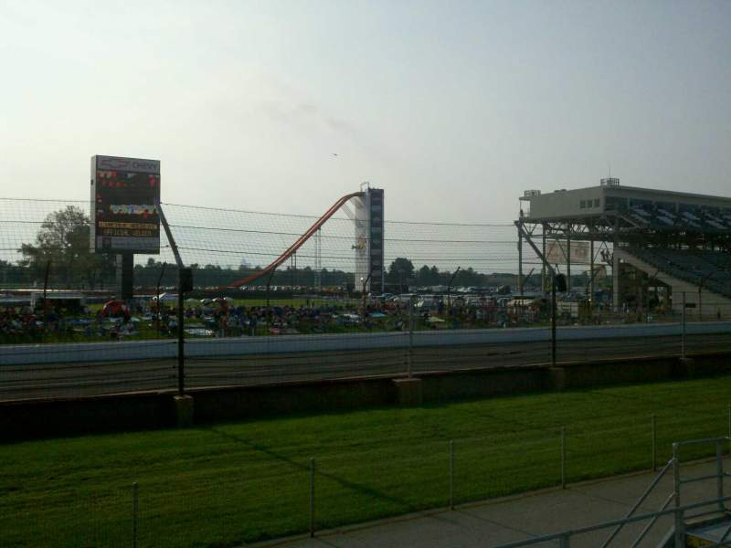 Seating view for Indianapolis Motor Speedway Section Paddock 11 Row H Seat 10