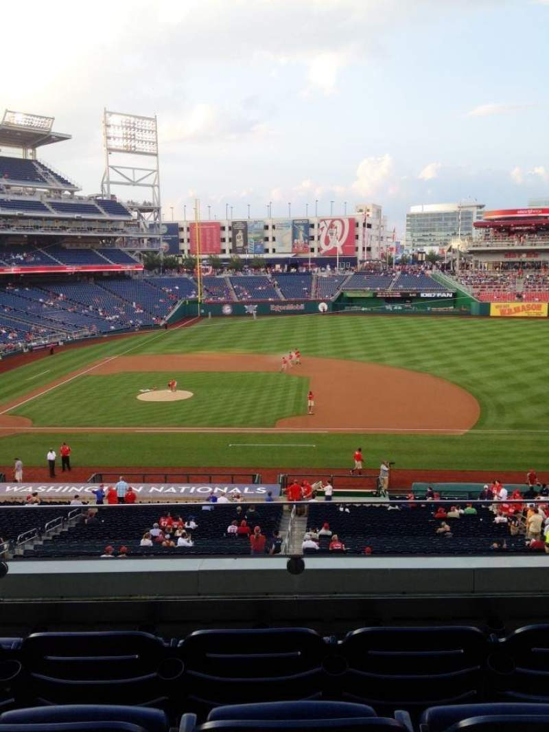 Seating view for Nationals Park Section 220