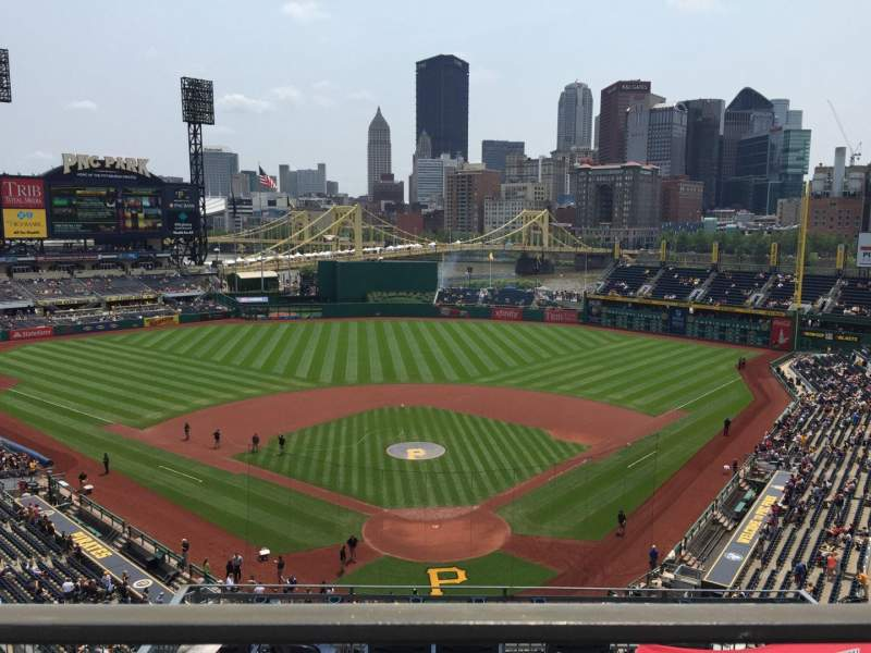 Seating view for PNC Park Section 316 Row A Seat 25