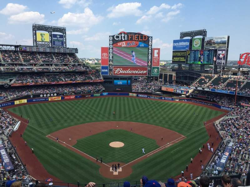 Seating view for Citi Field Section 514 Row 7 Seat 10