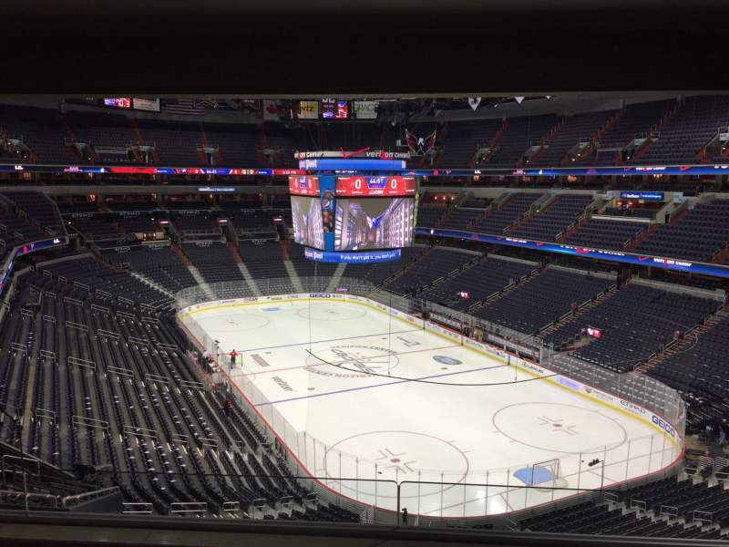Seating view for Verizon Center Section Suite 348