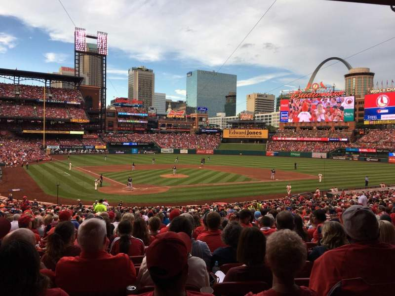 Seating view for Busch Stadium Section 148 Row 25 Seat 9