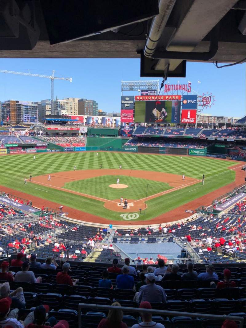 Seating view for Nationals Park Section Lincoln Suite 19 Row SUITE Seat 2