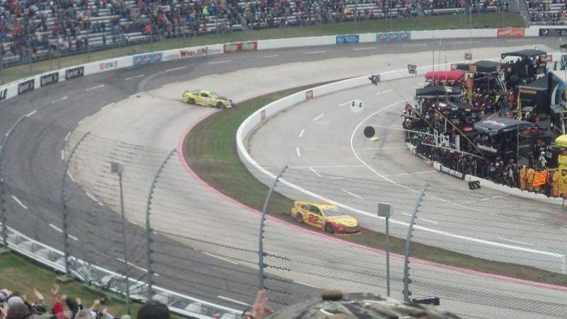 Seating view for Martinsville Speedway Section Clary Earles Tower MM Row 29 Seat 1