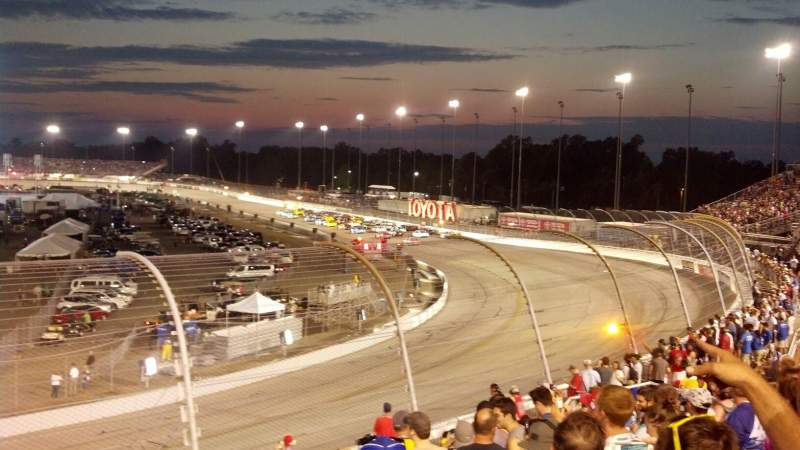 Seating view for Richmond International Raceway Section Dogwood I Row 10 Seat 4