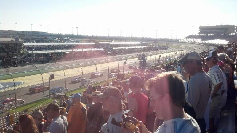 Seating view for Homestead-Miami Speedway Section 236 Row 15 Seat 1