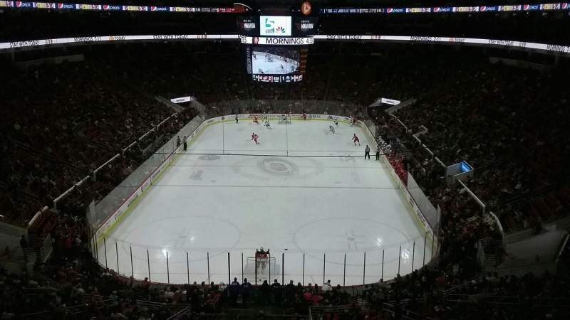 Seating view for PNC Arena Section 212 Row E Seat 4