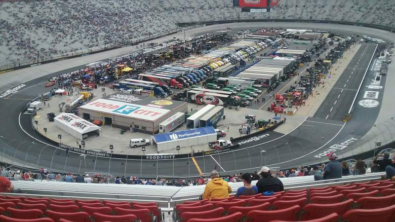 Seating view for Bristol Motor Speedway Section Kulwicki Terrace C Row 9 Seat 19