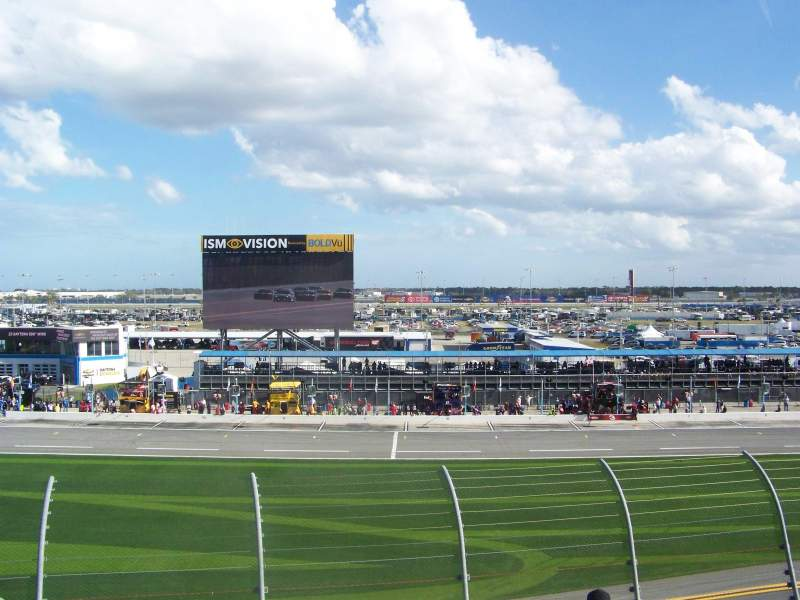 Seating view for Daytona International Speedway Section 157 Row 29 Seat 19