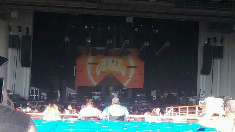 Seating view for PNC Music Pavilion Section 7 Row T Seat 11