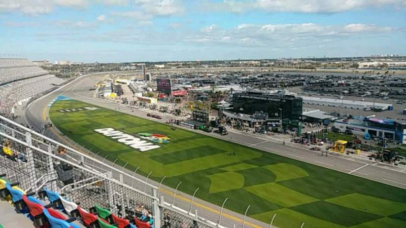 Seating view for Daytona International Speedway Section 463 Row 32 Seat 11