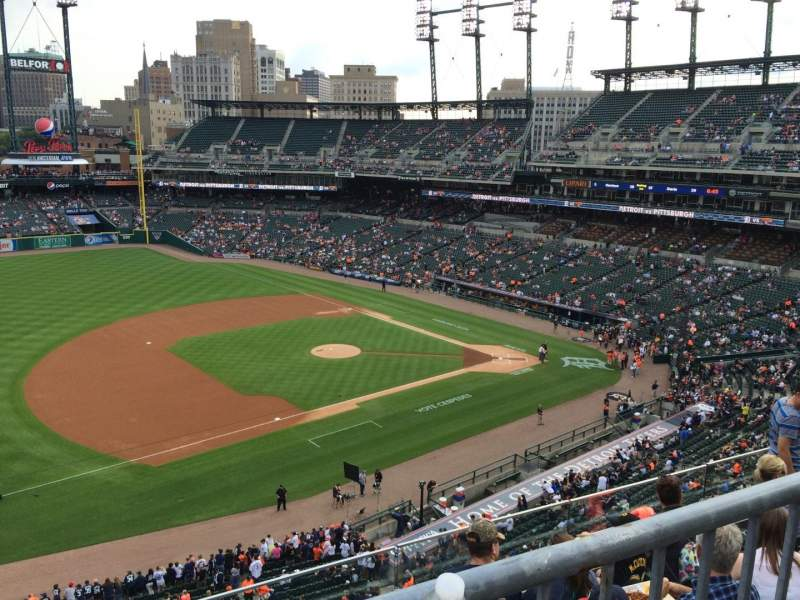 Seating view for Comerica Park Section 337 Row DAC Seat 7