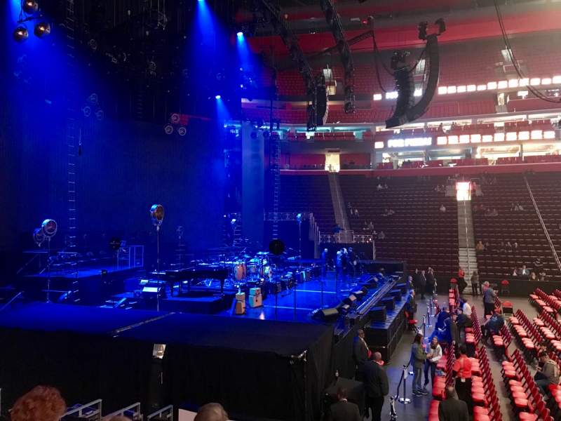 Seating view for Little Caesars Arena Section 125 Row 10 Seat 1