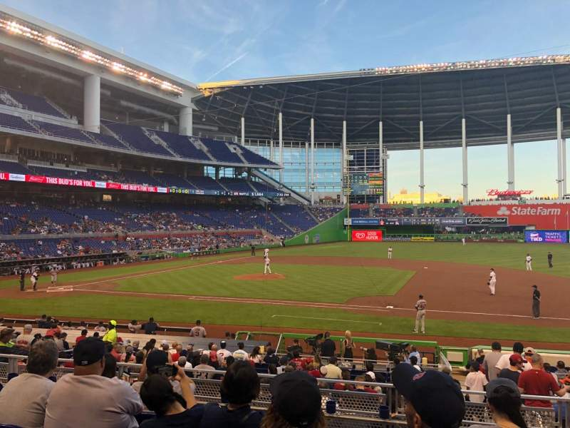 Marlins Park, section: 8, row: 5, seat: 13