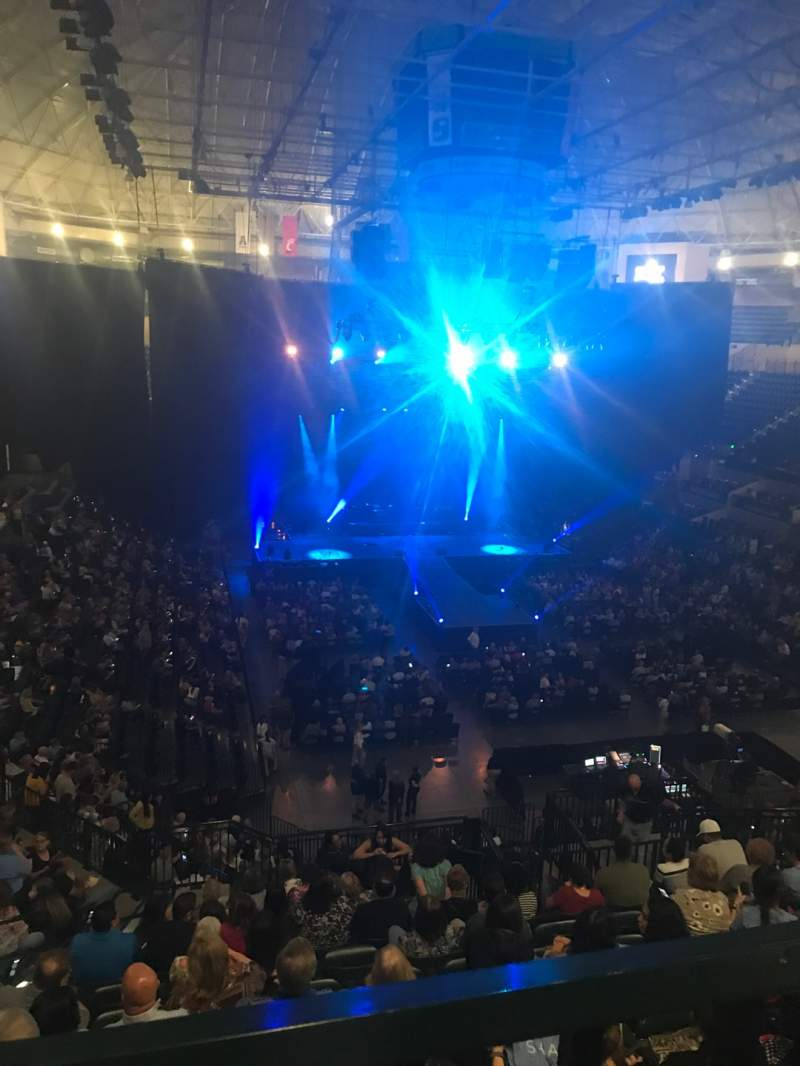 Seating view for Yuengling Center Section 220 Row WCW Seat 10