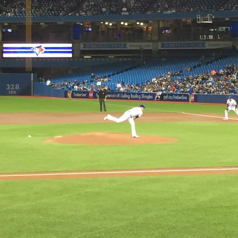 Seating view for Rogers Centre Section 127r Row 10 Seat 10