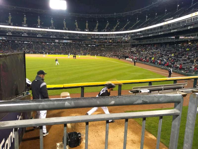 Seating view for Guaranteed Rate Field Section 158 Row 8 Seat 22