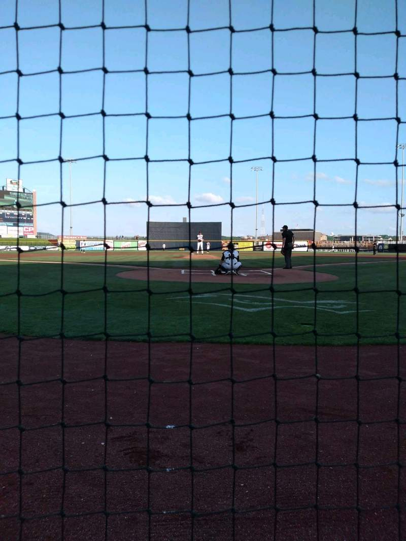 Seating view for Modern Woodmen Park Section 6 Row A Seat 9