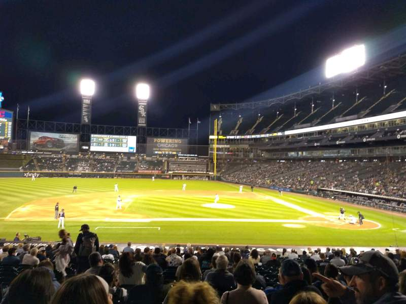 Seating view for Guaranteed Rate Field Section 139 Row 26 Seat 7